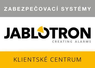 Zabezpečovací systémy Jablotron - klientské centrum Olomouc